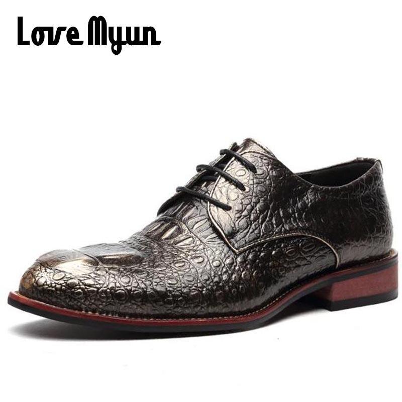 Hombres maduros vestido Zapatos cuero moda Zapatos para hombres ...