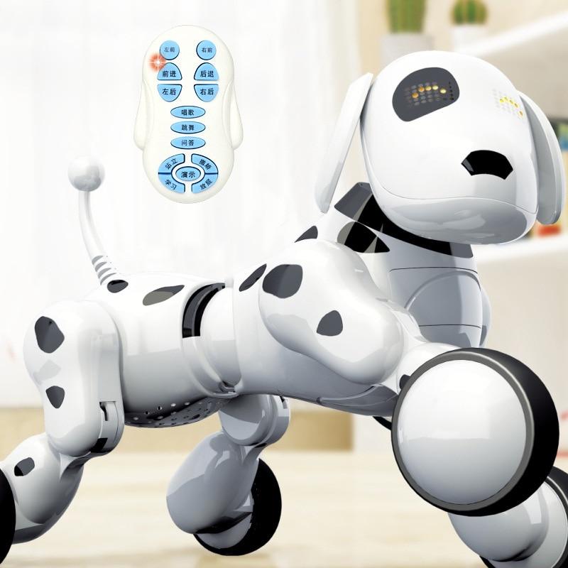 controle remoto robo cao eletronico animal de 04