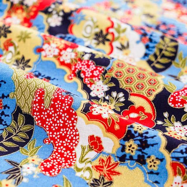 Cotton Fabric Japanese Style 3