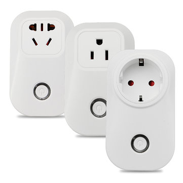 EU UK US Sonoff S20 WiFi Plug Socket Wireless Home Wall Plug Remote Control Outlet For