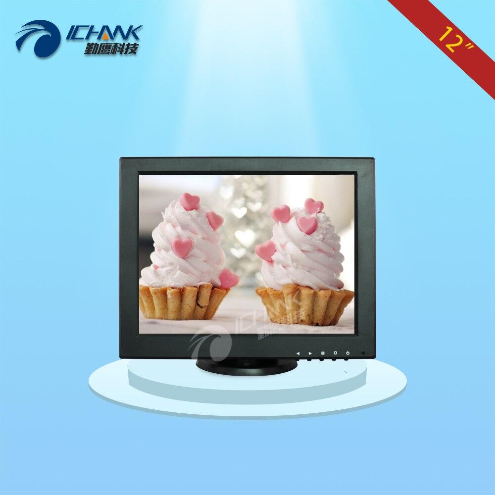 B120JNV 2 12 Monitor 12 inch Mini PC LCD Display 12 1024x768 VGA Signal Small Standard