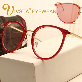 Cat Eye Retro Spectacles Glasses