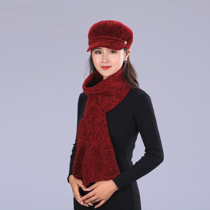Winter Hats for Women Knitted Beanie Hat Cap for Girls Rabbit Brand Hat Scarf Warmer Balaclava Mask Knitted Hat female in Women 39 s Skullies amp Beanies from Apparel Accessories