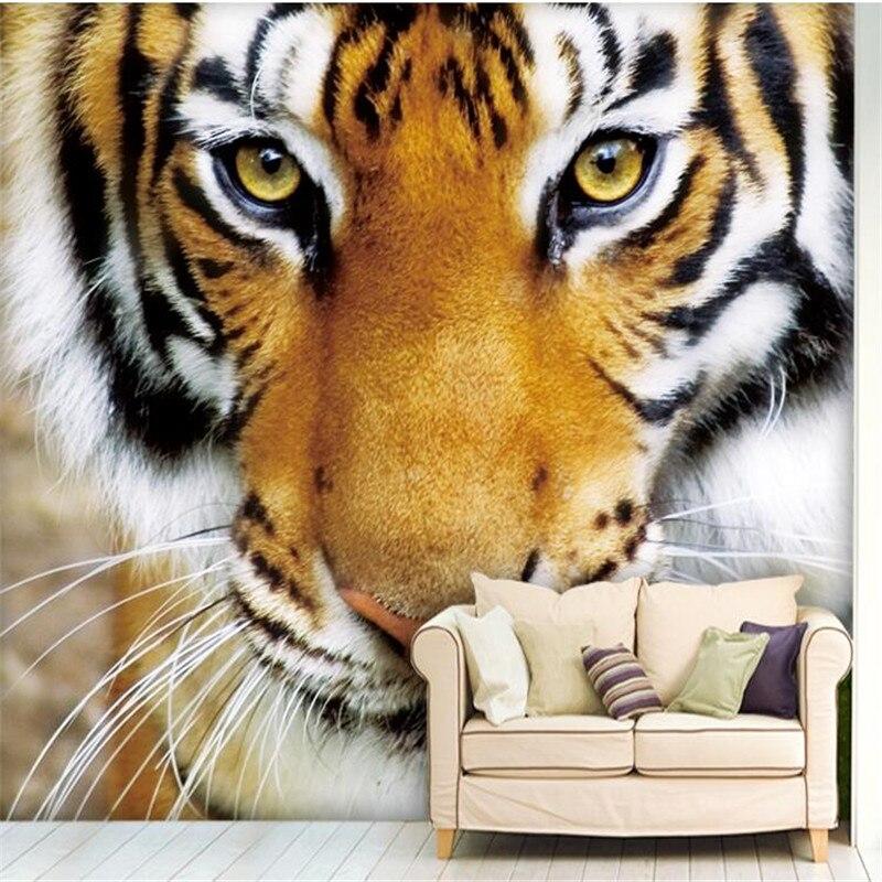 Popular Wallpaper Tiger-Buy Cheap Wallpaper Tiger Lots