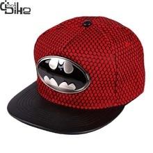 New Design Batman Snapback Baseball Cap Women Men Skateboard Caps Casquettes gorras planas hip hop Vogue Flat Hats Adjustable