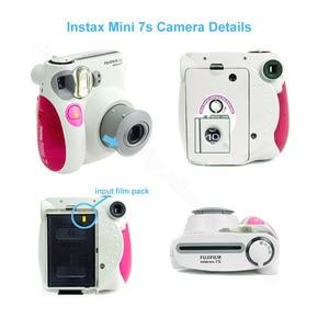 Image 3 - Cámara fotográfica instantánea original Fujifilm Instax Mini 7s, se acepta Mini película de Fuji Instax, lente de Selfie como regalo gratis