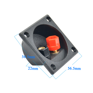 Image 4 - Aiyima 2pcs Speaker terminal box splicing fitting binding post panel diy accessories kit
