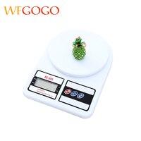 WFGOGO 5Kg/1g LCD Portátil Digital Electrónica Cocina Escala Escala de Alimentos de Cocina G Onza Libra de Retroiluminación LED escala hornear escala de farmacia