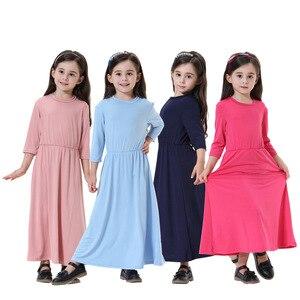 Fashion Abaya Turkish Rushed Islamic Clothing Women Caftan Arabia Muslim Middle East Dubai Saudi Malaysia Girls Children Abaya