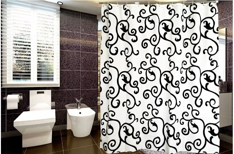 Shower curtain waterproof 240x200cm bathroom window - Tende per doccia in tessuto ...