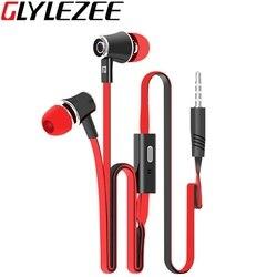 Glylezee jm21 stereo bass earphone earpieces headset with mic 3 5mm hands free for apple samsung.jpg 250x250