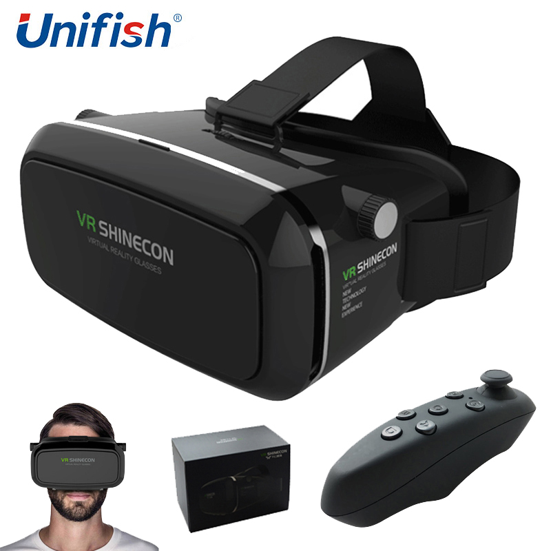 5d7020a9866a Original VR Shinecon Virtual Reality 3D Glasses Google Cardboard 2.0 VR  Headset Helmet 3D VR Box Glasses For 3.5~6 Smart phone