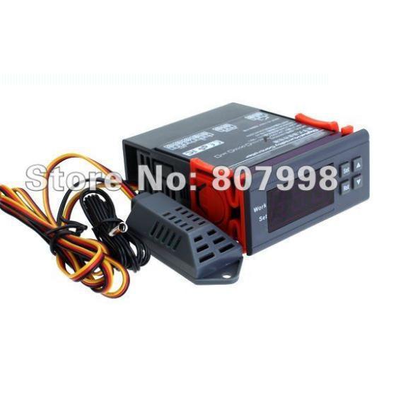 Willhi WH8040 AC 110 V 220 V DC 12 V 24 V Цифровой Воздушный широкий Температура Управление влажностью Управление; Диапазон влажности: 1%~ 99