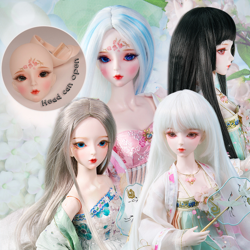 DBS 1/3 BJD Doll Customized Makeup Mechanical Joint Body,Including Wig,eyes,clothes,shoes AI YoSD MSD SD Kit Toy Gift DC Lati
