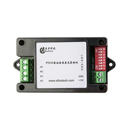 Terminal d'acquisition de température et d'humidité porteuse PTH10: protocole de Communication MODBUS RTU jusqu'à 255 nœuds