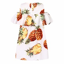 Girls Pineapple Dress