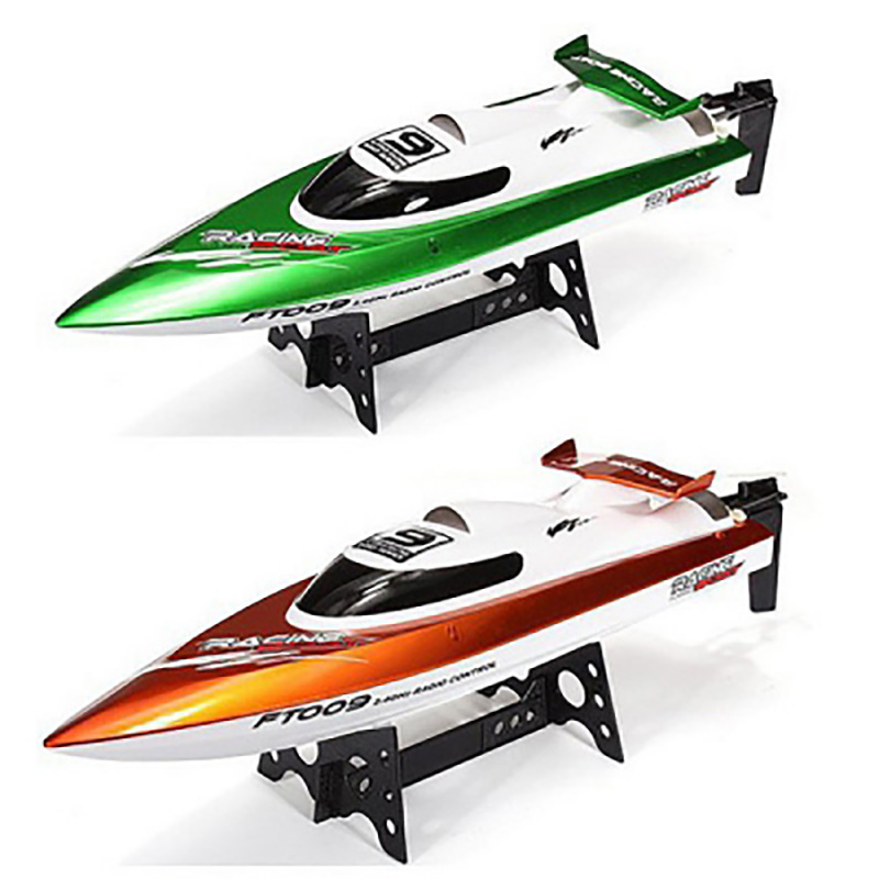 Fei Lun FT009 RC Boat 2.4G 4CH RC Racing Boat With Anti-Crash Cover High Speed Yacht Radio Control Boat With Rectifying Function ft007 rc yacht 4ch 2 4g 20km h omni direction high speed racing boat