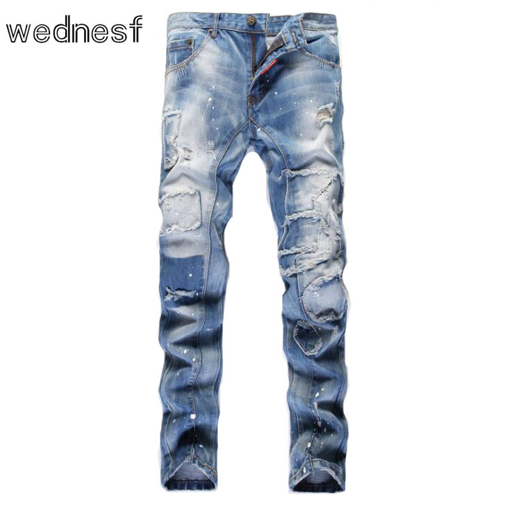 Online Buy Wholesale cheap ripped jeans for men from China cheap ...