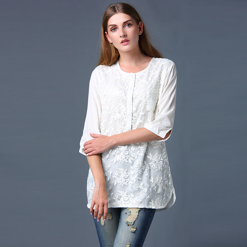 Online Buy Wholesale classic white blouse from China classic white ...