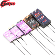 цены Cooltech RFA04A R6008 R7008HV SBUS Futaba Fasst 2.4G compatible Receiver 8ch 6EX T8FG T10C T12FG 14SG 16SG 16SZ 18SZ 18MZ 4PK