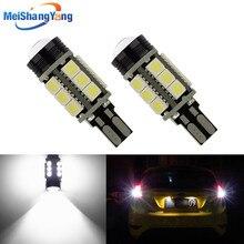2pcs T15 Canbus Error Free COB Bulbs LED 921 912 W16W Leds Car lamps External Lights 5050 SMD 12V Xenon White auto