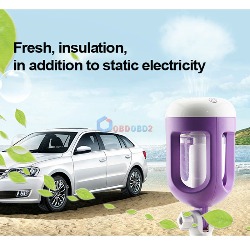 цена на Best Quality Car Humidifier Air Purifier Aroma Diffuser Essential oil diffuser Aromatherapy 4 Colors Mist Maker Fogger humidific