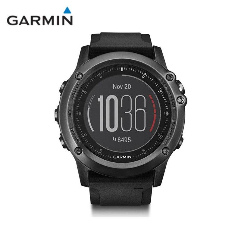 Garmin Fenix 3 RH Bluetooth 4.0 WIFI Sans Fil Étanche Montre Smart Watch Avec Moniteur de Fréquence Cardiaque Rappel Sédentaire Sommeil Moniteur