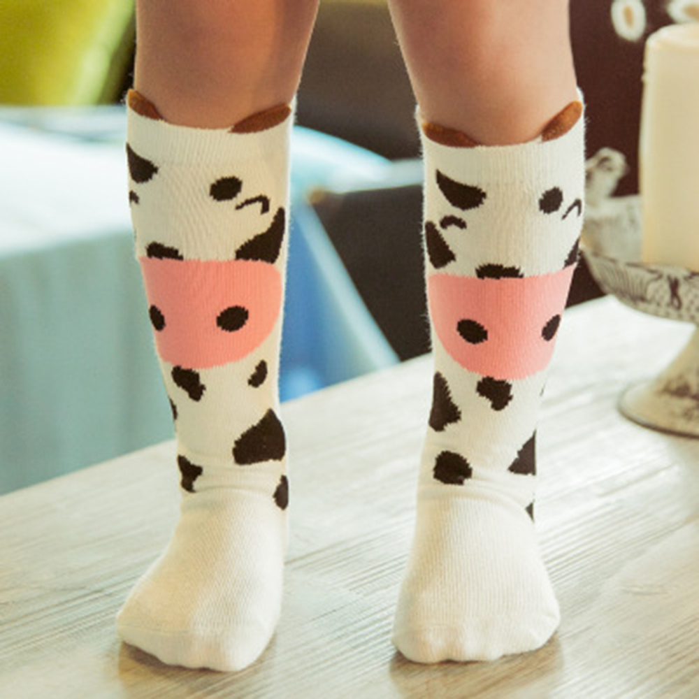 Mother & Kids Girls' Baby Clothing Elinfant Newborn Toddler Knee High Sock Baby Girl Boy Socks Anti Slip Cute Cartoon Cat Fox Leg Warmers For Newborns Infant Warm