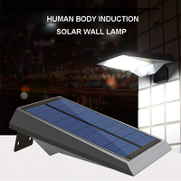 Good Quality 18LEDS PIR Motion Sensor Solar Light Lamp Garden Outdoor Fence Light Lobby Yard Wall Gutter Pathway Lamp 2Modes