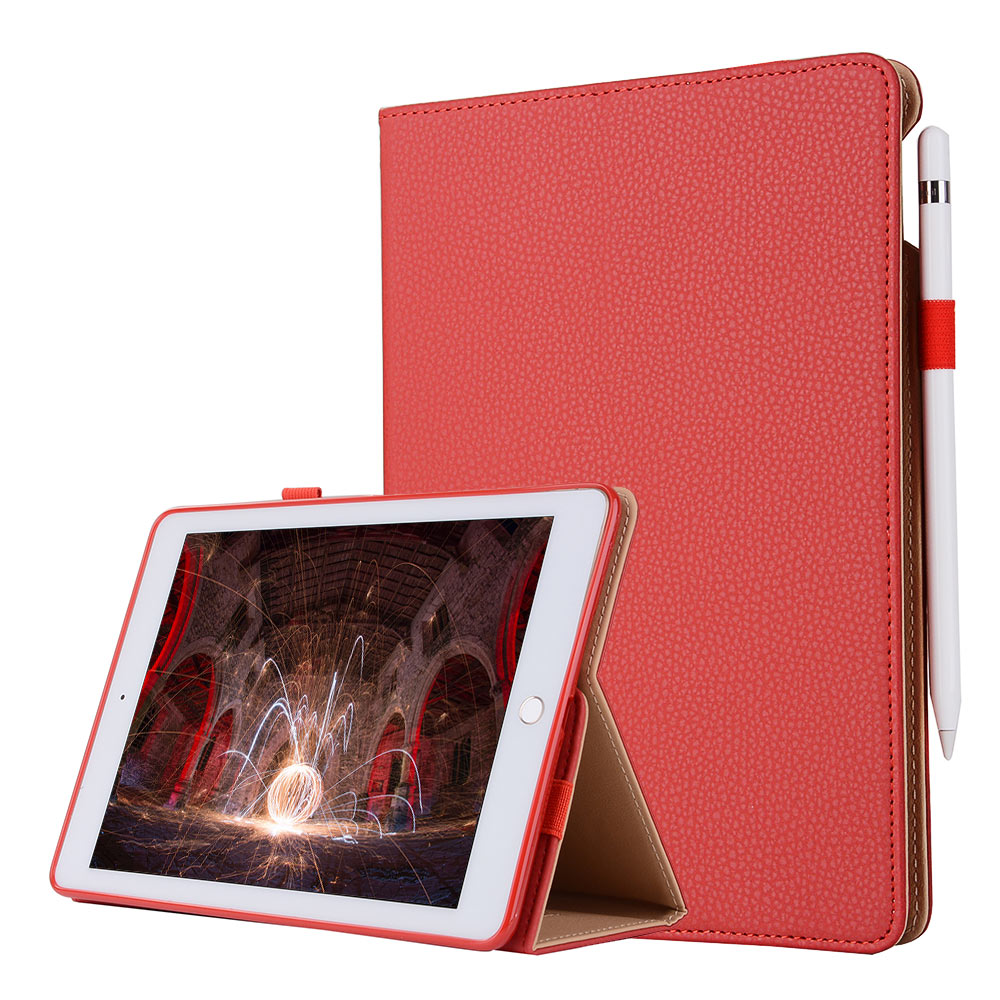iVAPO For iPad Pro 9.7 Case Leather PU Slim Flip Folio Smart Cover ...