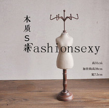 Free shipping! New and Hot Sale 7.5*39cm Mannequin Necklace Jewelry Pendant Display Stand Holder Show Decorate Retail,M00379S