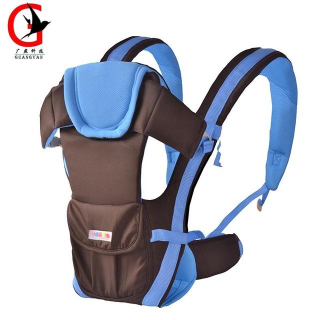 3-36 meses algodão multifuncional frente virada baby carrier infantil confortável sling backpack pouch envoltório do bebê canguru xcye-1