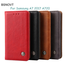 hot deal buy cases sfor samsung galaxy a7 2017 case luxury leather gel wallet purse cover for samsung galaxy a7 2017 for samsung a7 2017 a720