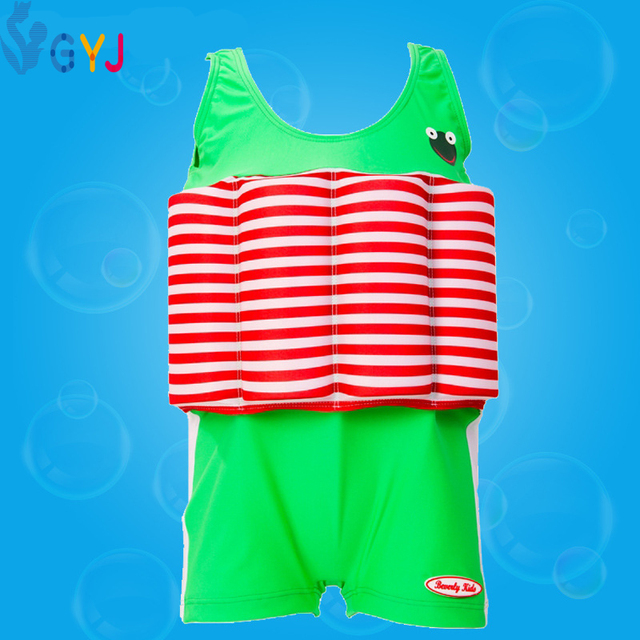 swimsuit baby 65-105cm Baby swimsuit with floats Safety competitive Triangle swimwear infant toddler swimwear child bathing suit