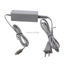 US Type Home Wall Charger Adapter Power Supply for Nintendo Wii U Gamepad Grey