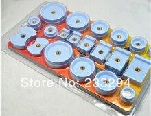 20 unids Nylon Derlin Dies reemplazar 4 caja de reloj volver Crystal Closer herramienta prensa reparación
