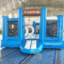 Blue Color Promotion Giant Bouncy Castle Inflatable Bouncer