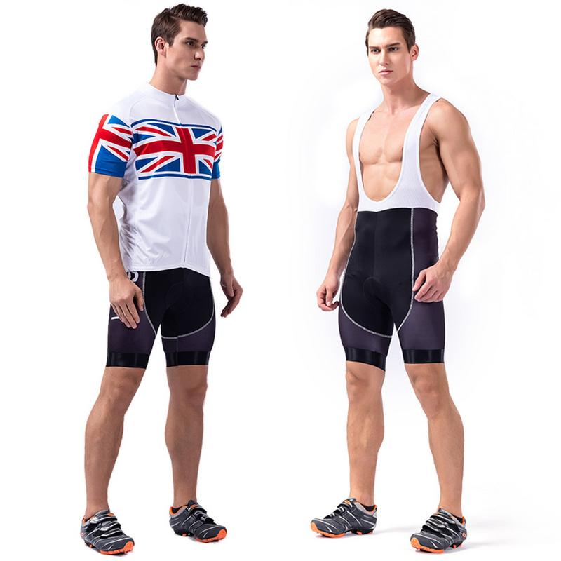 Comfortable Breathable Bike Riding Clothing Set White Rice Short Sleeve Top&Vest And Black Pants Jersey S M L XL 2XL 3XL Size