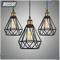 Лофт винтажный промышленный подвесной светильник креативный бар столовая железный подвесной светильник