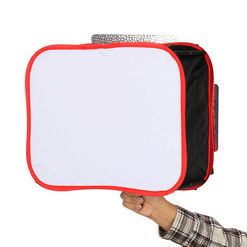 Image 2 - New Softbox Diffuser for YONGNUO YN600L II YN900  Led Video Light Panel Foldable Soft Filter Photography light accessories box-in Softbox from Consumer Electronics