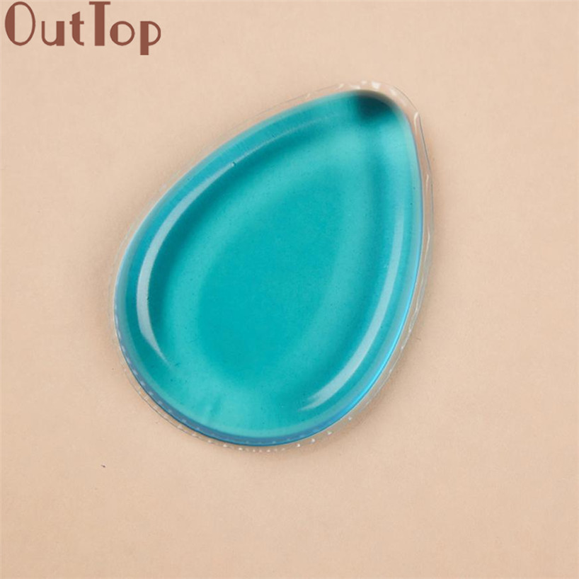 Outtop caliente 100% estrella caliente blender esponja puff maquillaje de silico