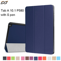 For Samsung Galaxy Tab Case High Quality Tri Flod PU Leather Case For Samsung Tab A