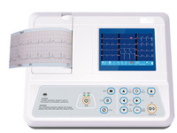 Free shipping Single channel ECG machine electrocardiograph cardiograph ecg machine electrocardiogram machine