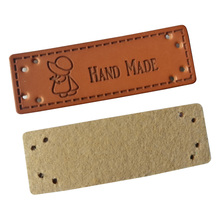 lovely logo handmade leather labels with man logo for needlework hand made label for gift tags handwork sewing tag for clothing win win logo hand made leather labels for gift sewing win logo hand made tags for clothes gift handmade leather sewing label