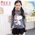 New Autumn and Winter 2016 Children Sweater Children Sweater Knitted T-shirts Girls Sweater