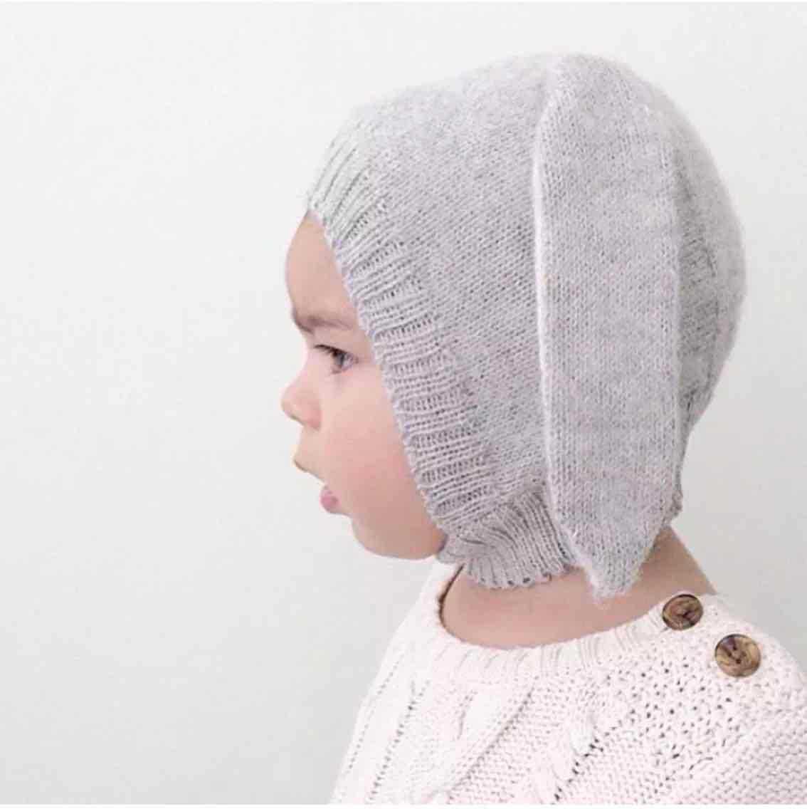 Corea Del sur nuevo bebé orejas de conejo del sombrero Del Bebé sombrero de  los niños Encantadores cálido sombrero que hace punto al por mayor en  Sombreros ... ee2fb8d579a