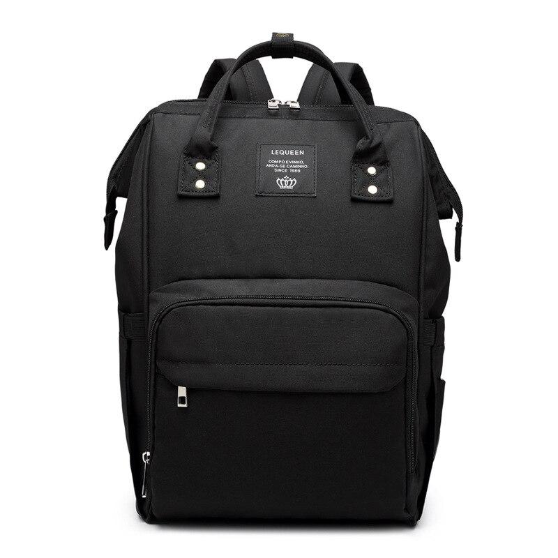 HTB159.8XjzuK1RjSspeq6ziHVXah Fashion Mummy Maternity Nappy Bag Large Capacity Baby Bag Travel Backpack Nursing Bag for Baby Care Nappy Hand Bag