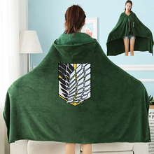 Anime Attack on Titan Blanket Cloak Shingeki No Kyojin Survey Corps Cloak Cape Flannel Hoodie Halloween Party Cosplay Costumes anime attack on titan wings of liberty pendant necklace shingeki no kyojin cosplay necklace survey corps necklaces