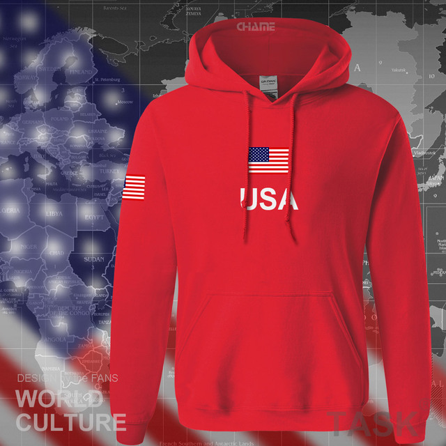 USA United States of America hoodies men 2017 sweatshirt sweat new hip hop streetwear American jerseys tracksuit nation flag US 3