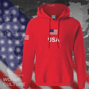 Image 4 - USA états unis damérique sweat à capuche pour homme 2017 sweat sweat nouveau hip hop streetwear américain maillots survêtement nation drapeau US